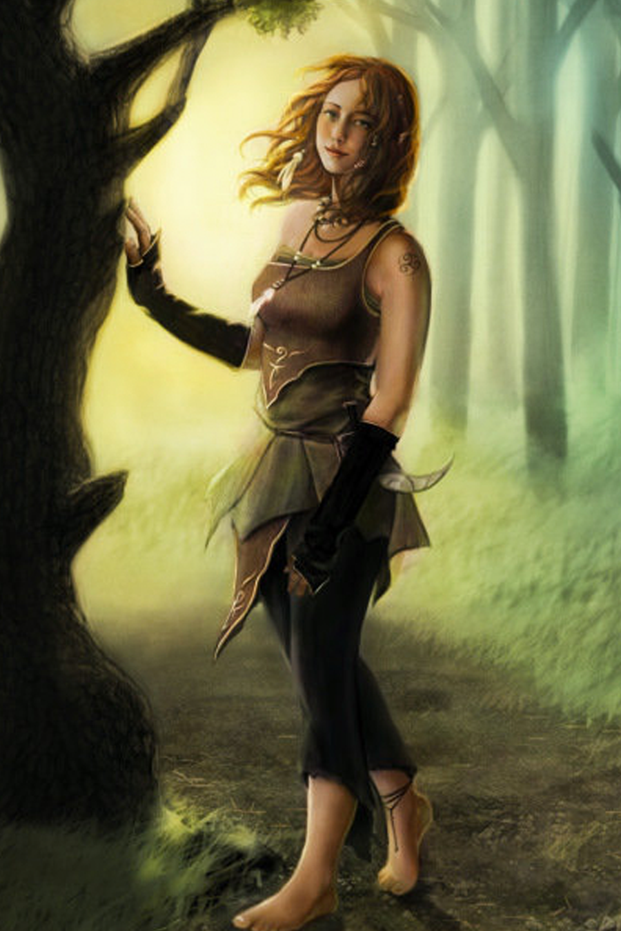 Druid girl hot nackt picture